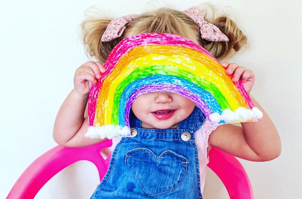 Gratis #rainbowsofhope ontwerp